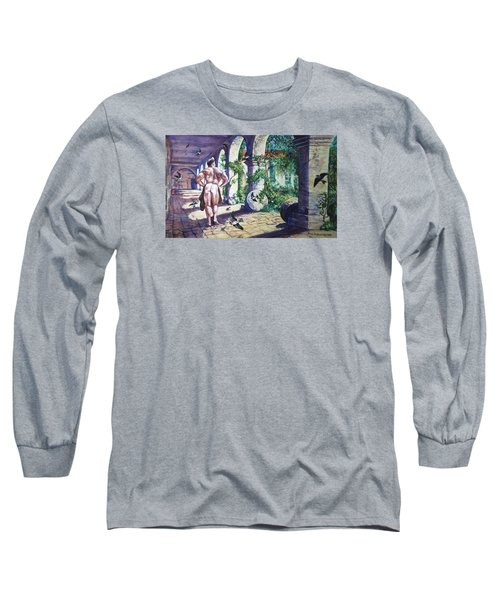 Naked In The Cloisters Long Sleeve T-Shirt