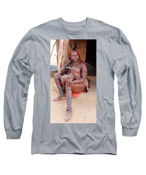 Namibia Tribe 9  Long Sleeve T-Shirt