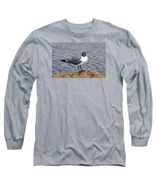 Long Sleeve T-Shirt featuring the photograph Bird by Glenn Gordon