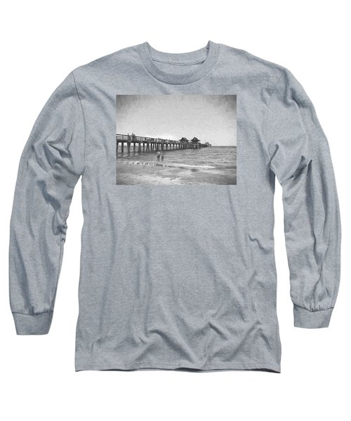 Naples Pier Long Sleeve T-Shirt