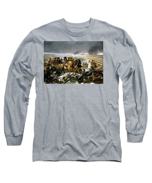 Long Sleeve T-Shirt featuring the painting Napoleon At Eylau  by Antoine Jean Gros