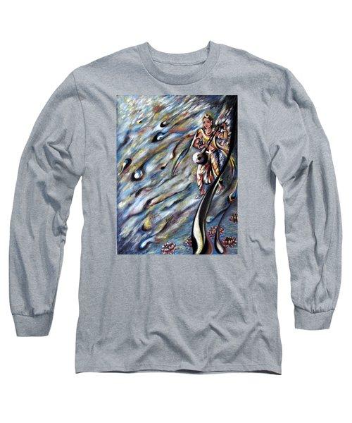 Narada Muni Long Sleeve T-Shirt by Harsh Malik
