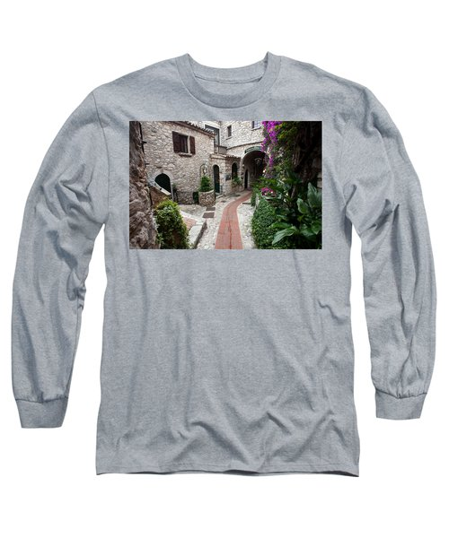 Narrow Streets, Eze Long Sleeve T-Shirt