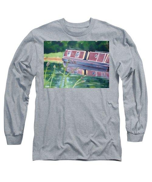 Narrowboat Long Sleeve T-Shirt