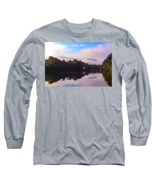 Nashawannuck Pond, Easthampton, Ma Long Sleeve T-Shirt