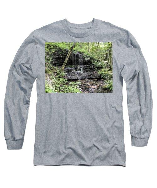 Natchez Trace Waterfall Long Sleeve T-Shirt