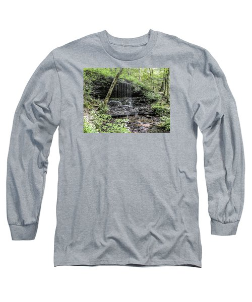 Natchez Trace Waterfall Long Sleeve T-Shirt