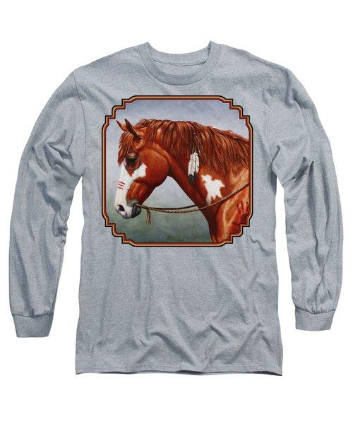 Native American War Horse Phone Case Long Sleeve T-Shirt