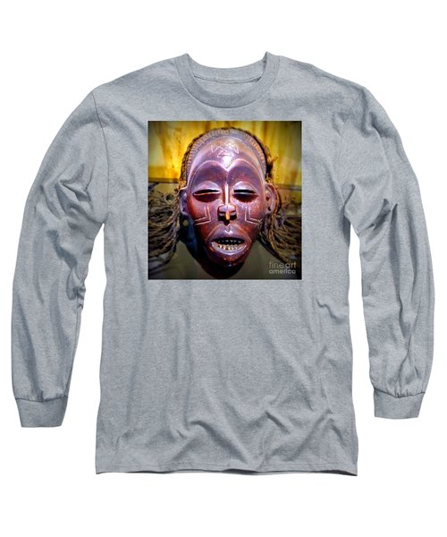 Native Mask Long Sleeve T-Shirt