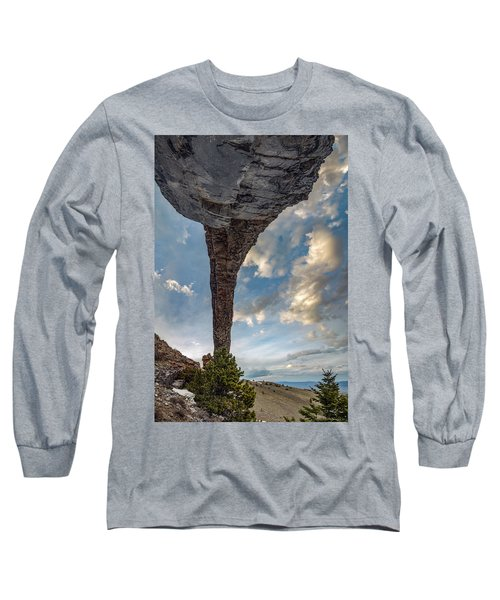 Natural Arch 2 Long Sleeve T-Shirt by Leland D Howard