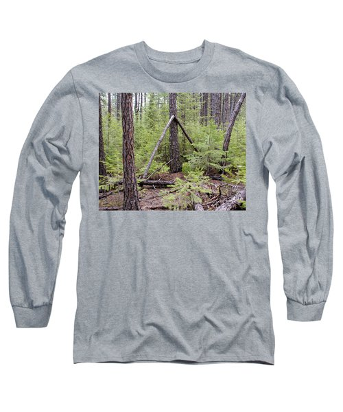 Natural Peace In The Woods Long Sleeve T-Shirt