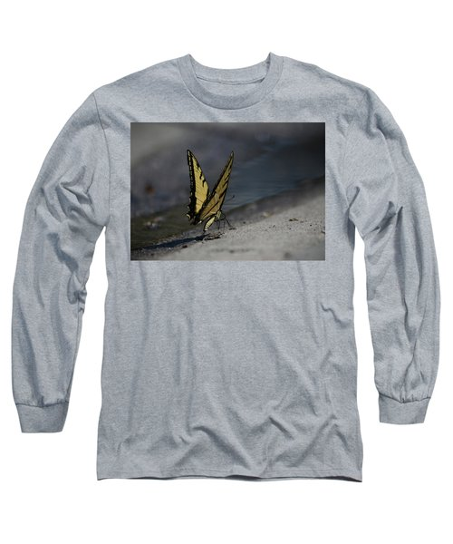 Nature And Man Reflects Long Sleeve T-Shirt