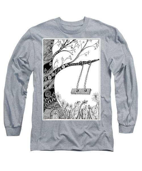 Nature Is Calling Come Out And Play Long Sleeve T-Shirt