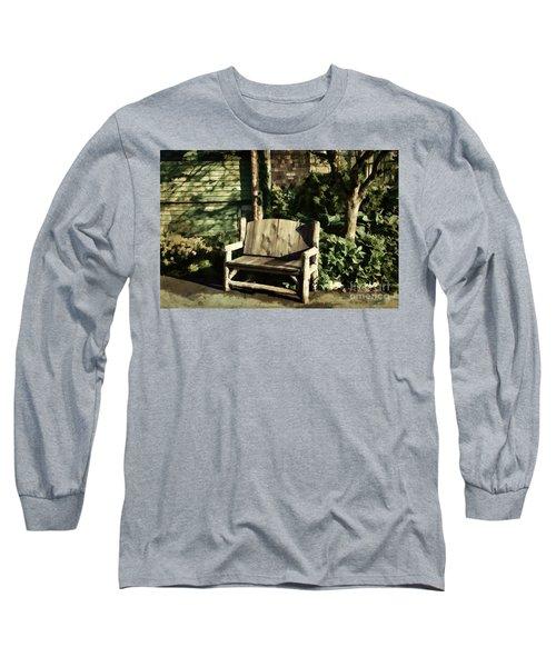Nature - Peacefulness  Long Sleeve T-Shirt by Judy Palkimas