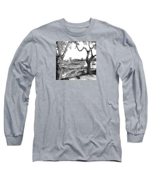 Nature Sketch Long Sleeve T-Shirt by John Stuart Webbstock