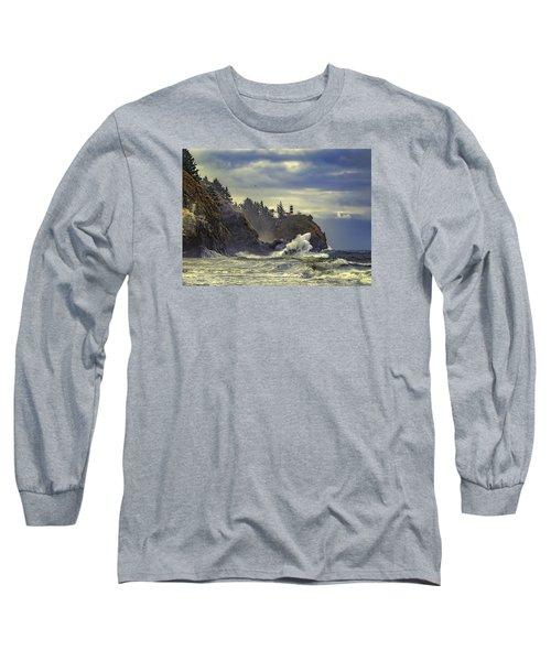 Natures Beauty Unleashed Long Sleeve T-Shirt by James Heckt