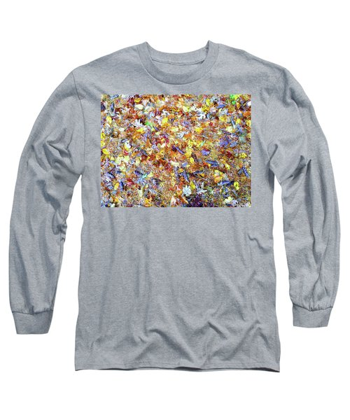 Natures Fall Falling Patterns Long Sleeve T-Shirt