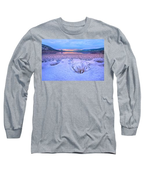 Long Sleeve T-Shirt featuring the photograph Nature's Sculpture by John Poon