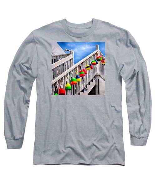 Nautical Stairway Long Sleeve T-Shirt
