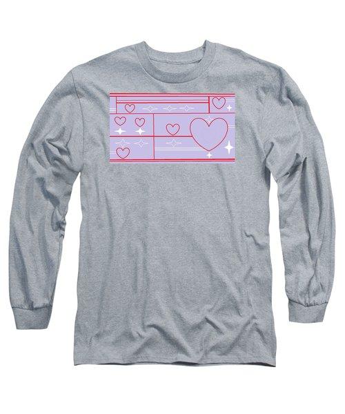 Navajo 8 Long Sleeve T-Shirt by Linda Velasquez
