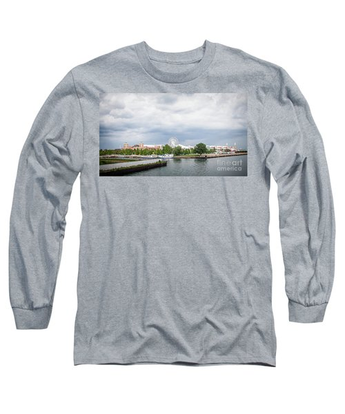 Navy Pier In Chicago Long Sleeve T-Shirt