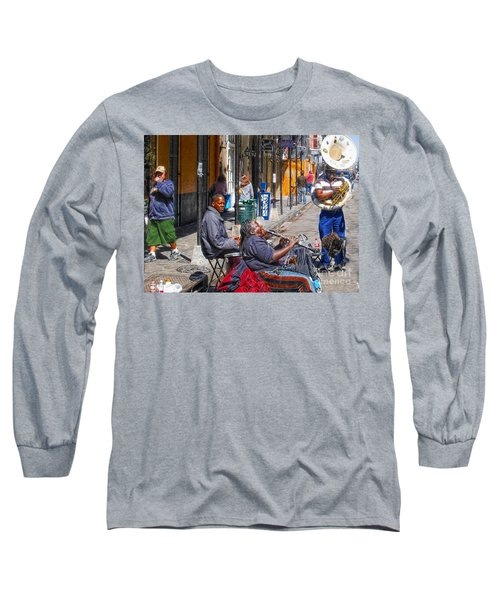 Nawlins Long Sleeve T-Shirt by John Kolenberg