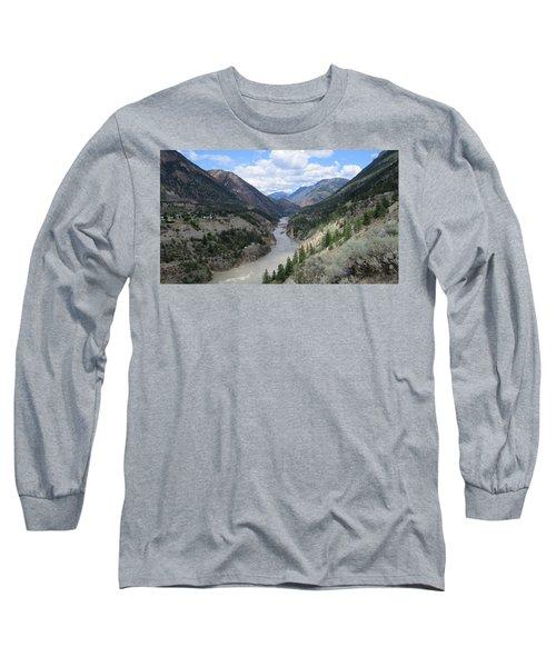 Near Lillooet Bc Long Sleeve T-Shirt