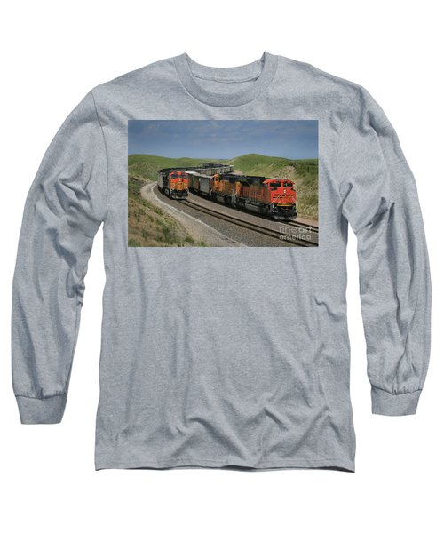 Nebraska Coal Trains Long Sleeve T-Shirt