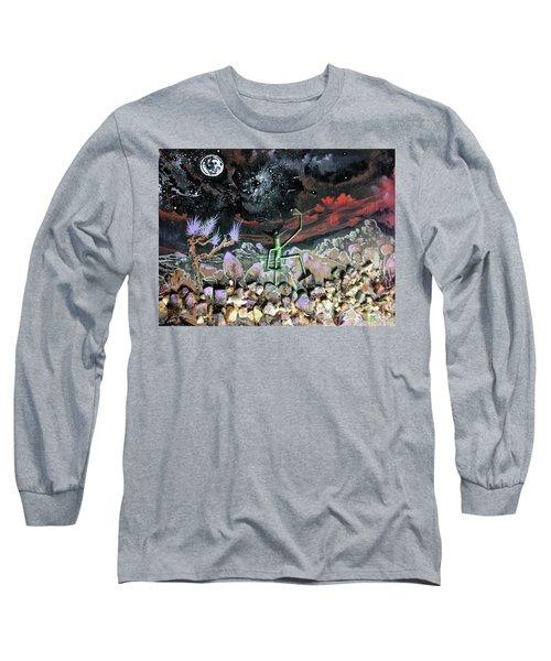 Haystack Needle Long Sleeve T-Shirt