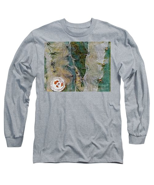 Needles In The Desert Long Sleeve T-Shirt by Kathie Chicoine