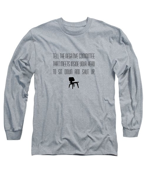 Negative Committee Long Sleeve T-Shirt