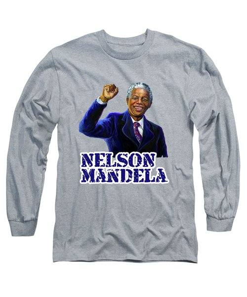 Nelson Mandela Long Sleeve T-Shirt