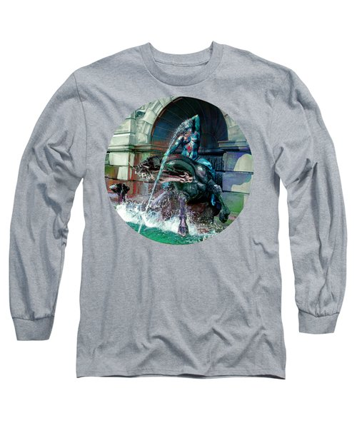 Neptune Nymph 2 Long Sleeve T-Shirt by Robert G Kernodle