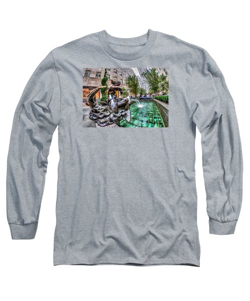 Long Sleeve T-Shirt featuring the photograph Nereid by Rafael Quirindongo