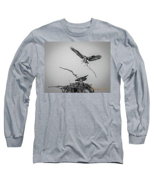 Nest Building 2m Long Sleeve T-Shirt