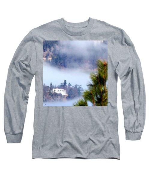 Nestled In The Fog Long Sleeve T-Shirt