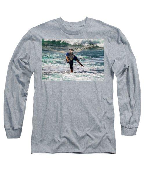 Net Fishing Long Sleeve T-Shirt