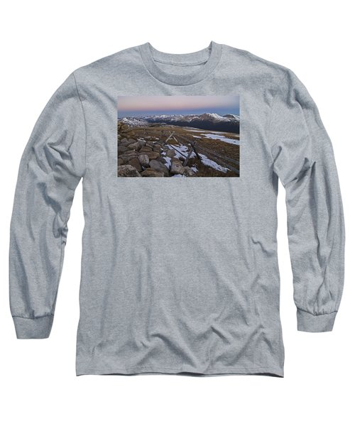 Long Sleeve T-Shirt featuring the photograph Never Summer Range by Gary Lengyel