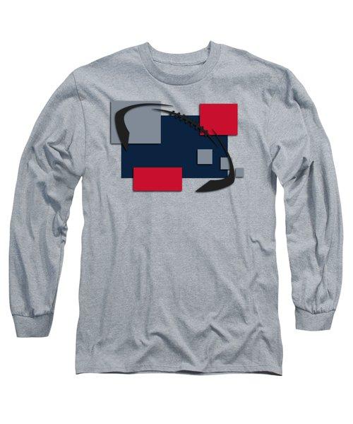 New England Patriots Abstract Shirt Long Sleeve T-Shirt