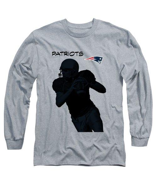 New England Patriots Football Long Sleeve T-Shirt