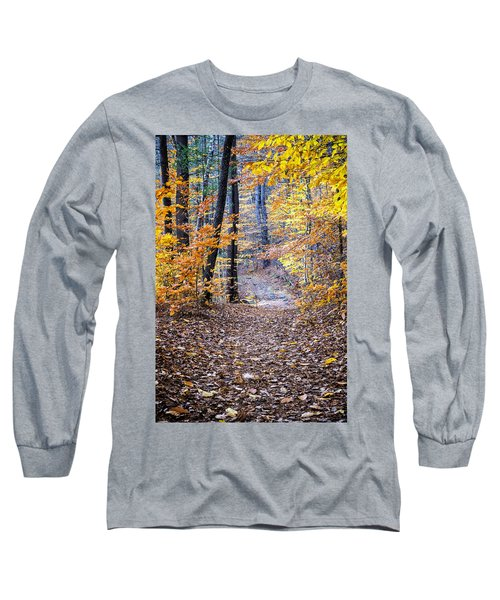 New Hampshire Woods Long Sleeve T-Shirt