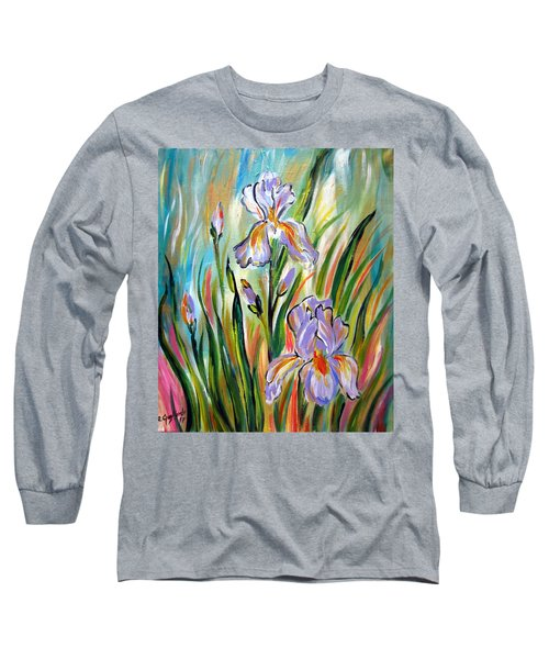 New Irises Long Sleeve T-Shirt