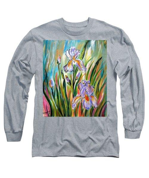 New Irises Long Sleeve T-Shirt