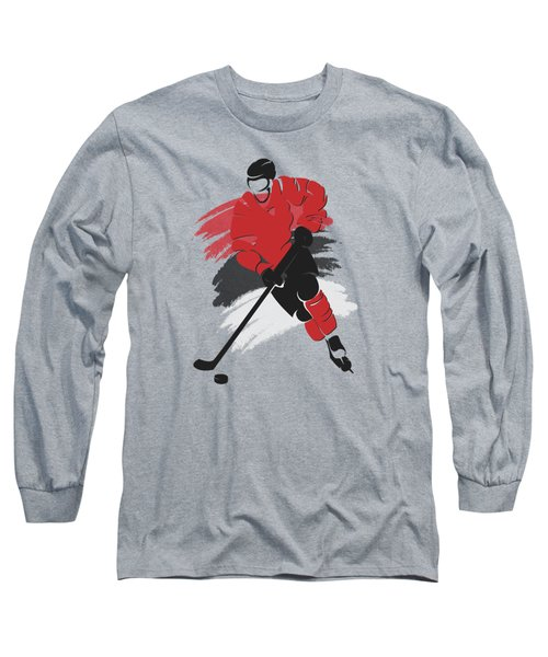 New Jersey Devils Player Shirt Long Sleeve T-Shirt