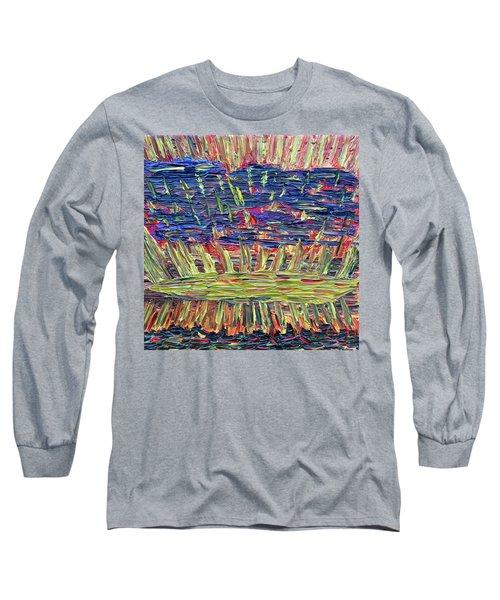 New Jersey Sunset Long Sleeve T-Shirt