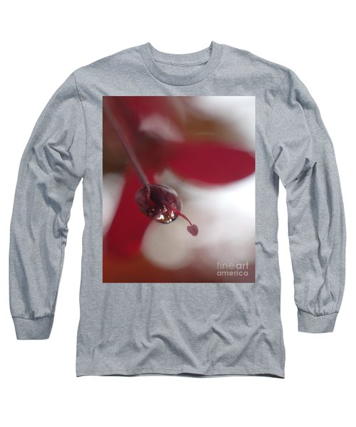 New Love Grows Long Sleeve T-Shirt by Christina Verdgeline