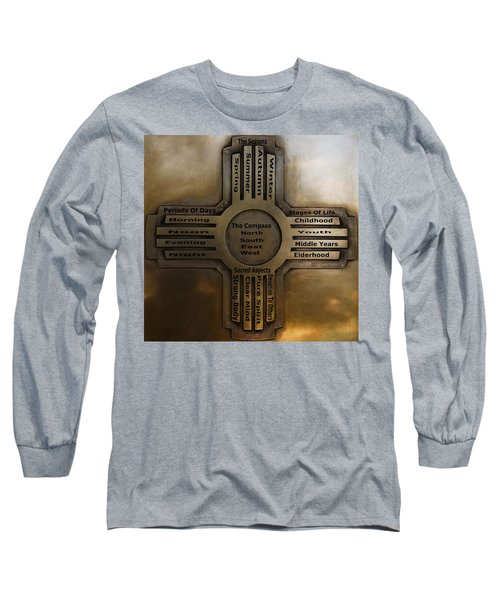 New Mexico State Symbol The Zia Long Sleeve T-Shirt