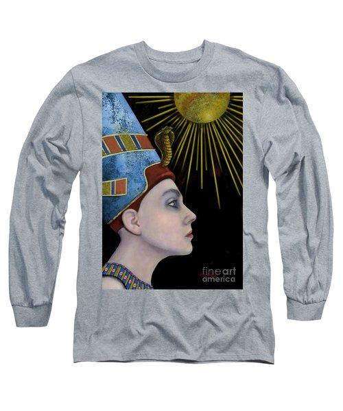 New Nefertiti Long Sleeve T-Shirt by Carol Jacobs