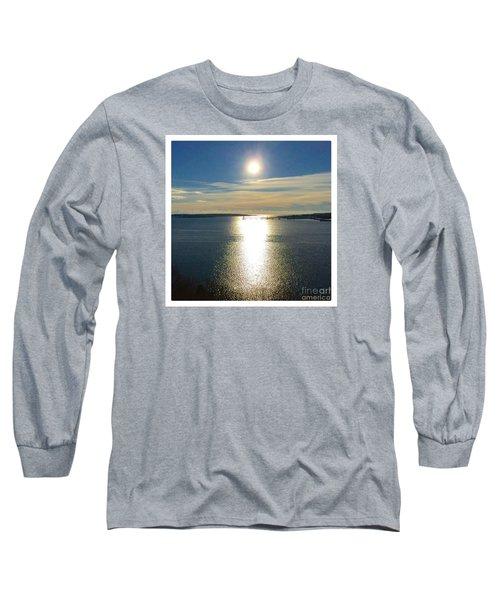New Year's Day 2016, Casco Bay, Portland, Maine  Long Sleeve T-Shirt