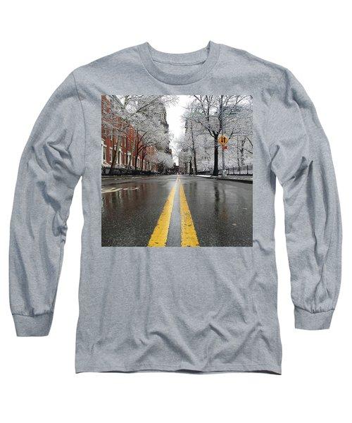 New York 1st Snow Long Sleeve T-Shirt